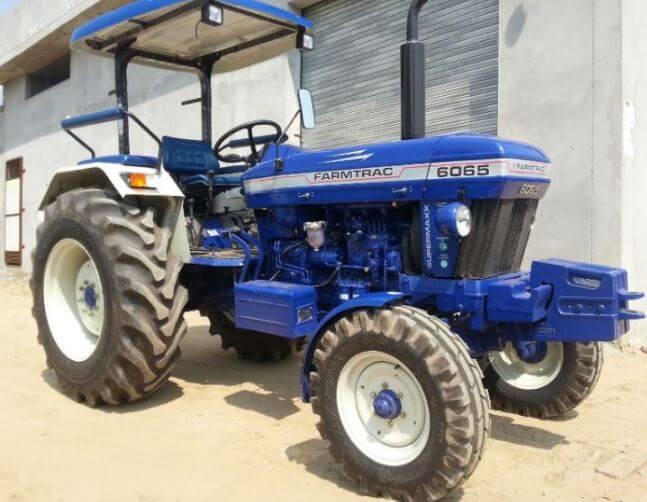 Escorts Farmtrac 6065 Executive Tractor