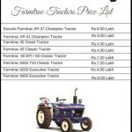 Farmtrac Tractors Price India 2019