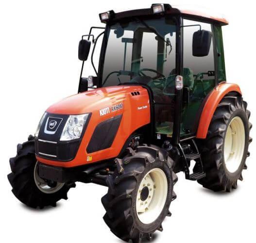 Kioti RX6010 CAB Tractor