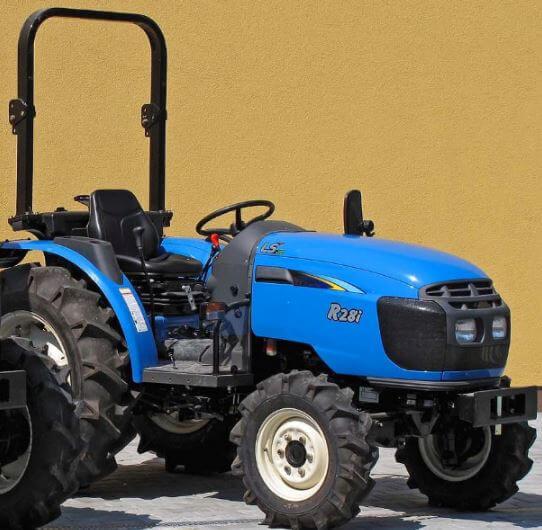 LS-I28-Compact-Tractor