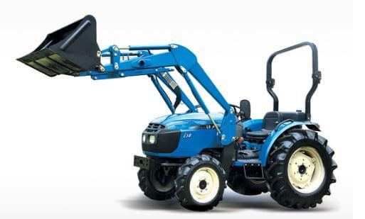 LS-I38-Compact-Tractor