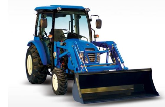 LS XR4155 CABIN Compact Tractor