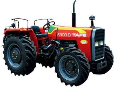 TAFE 5900 DI 4WD Tractor