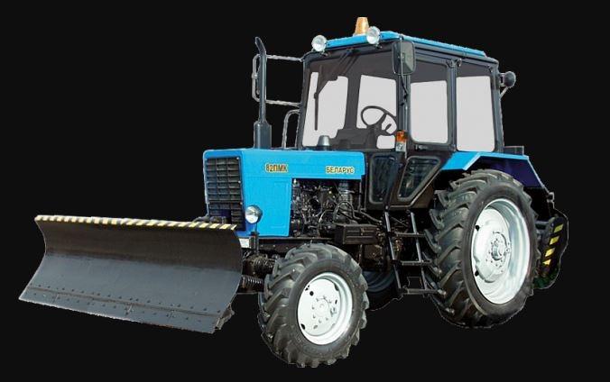 BELARUS 82MK Road Sweeping Municipal Vehicle price specs