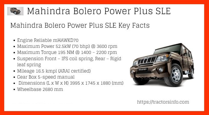 Mahindra-Bolero-Power-SLE-Price-List-in-India