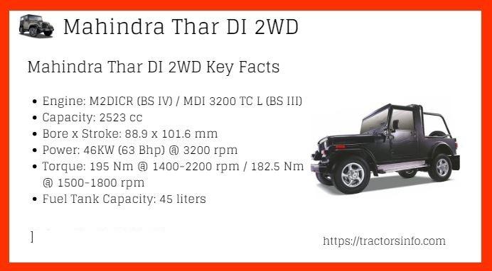 Mahindra-Thar-DI-2WD