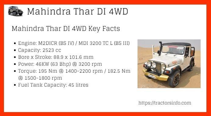 Mahindra-Thar-DI-4WD