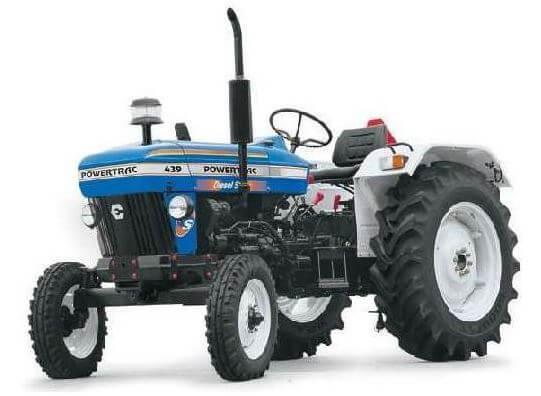 Escorts Powertrac Tractors】 information Price List Features