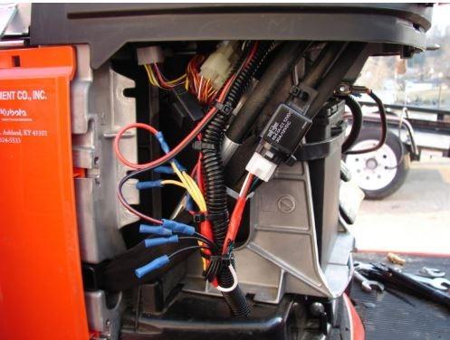 Kubota-B2301-Tractor Electrical-System