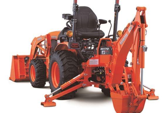 Kubota-B2301-Tractor-backhoe