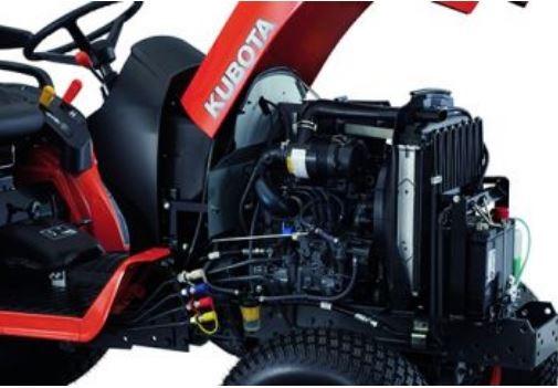 Kubota-B2301-tractor-Engine