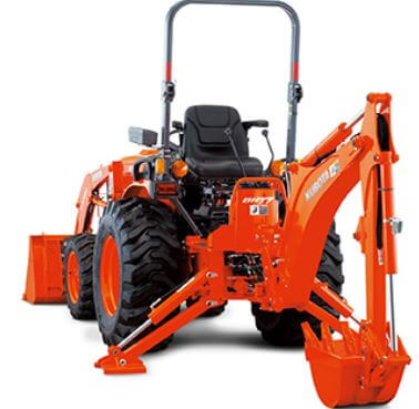 Kubota-B2650-Tractor-BH70-Backhoe