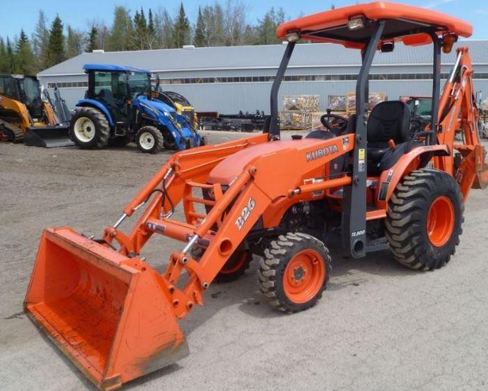 Kubota-B26TLB-Tractor-Loader