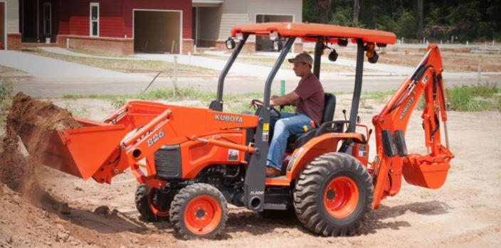 Kubota-B26TLB-Tractor-hydrolic-system