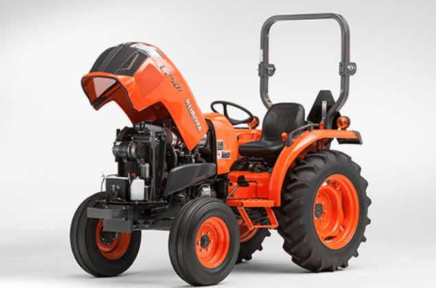 Kubota-L2501-One-Piece-Hood