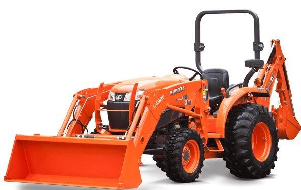 Kubota-L3301-Tractor-front-loader
