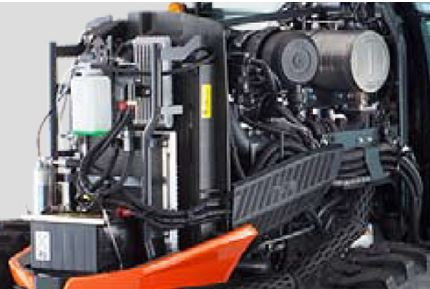 Kubota-L4060-engine
