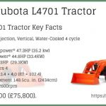 Kubota L4701 | HST And Gear-drive Transmission Tractors Price | Features