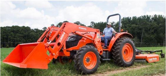 Kubota-M5660-Tractor-loader