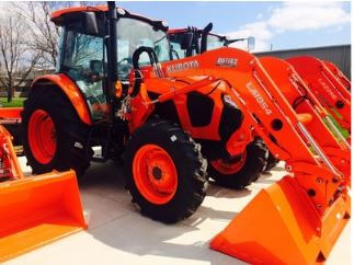 Kubota M5L 111 SN Tractor Fuel Tank Capacity