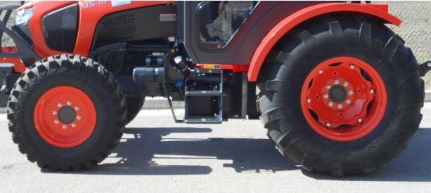 Kubota M5L 111 SN Tractor Tire size