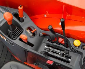 Kubota M5L 111 SN Tractor Transmission system