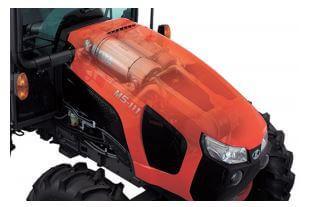 Kubota M5L 111 SN Tractor engine