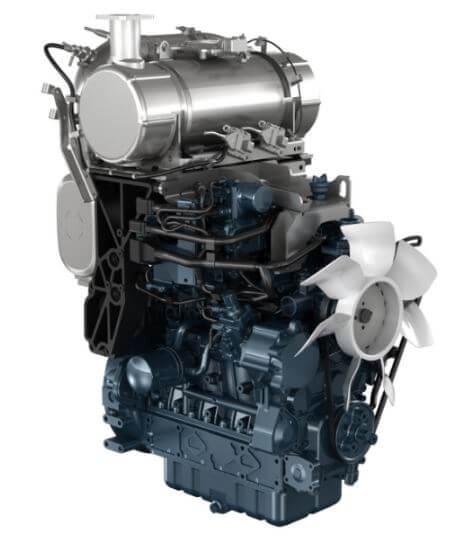 Kubota M6S Series Tractor engine