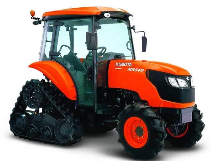 Kubota M8540 NPK (Power Krawler) Tractor Specs Price