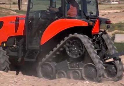 Kubota M8540 NPK Tractor Low ground compaction