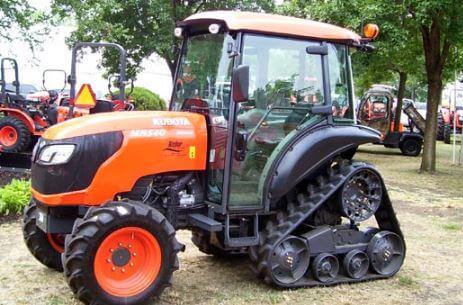 Kubota M8540 NPK Tractor engine