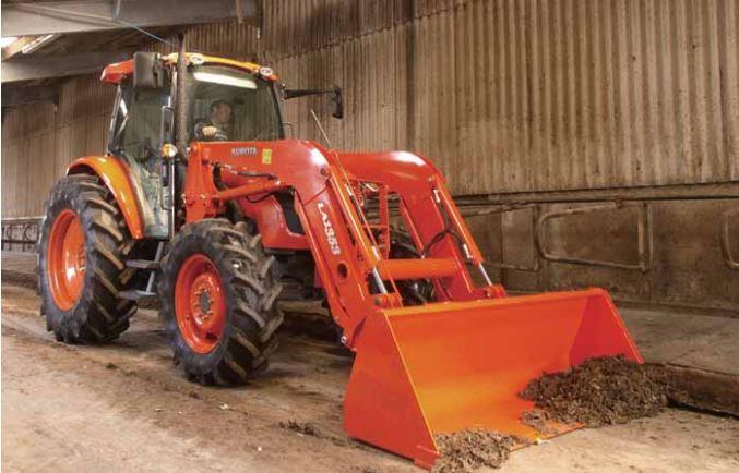 Kubota-M9540-Tractor-Front-Loader