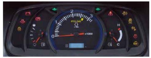 Kubota-MX-series-Tractor-Dash-panel