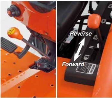 Kubota-MX-series-Tractor-Gear-Drive-transmission