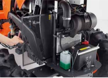Kubota-MX-series-Tractor-fuel-system