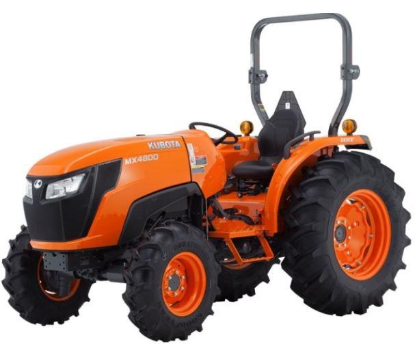 Kubota-MX4800DT-Tractor