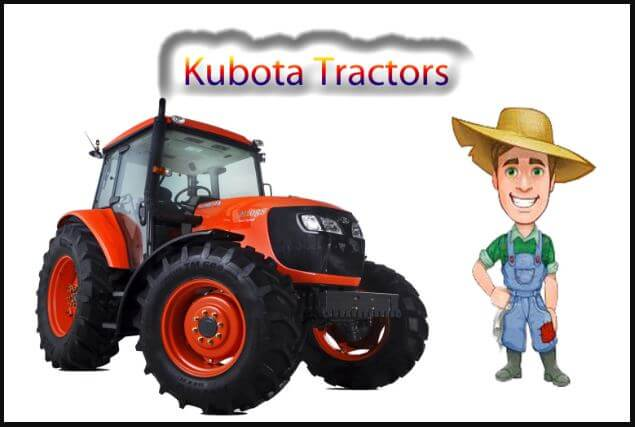 Kubota Tractors Price List in India