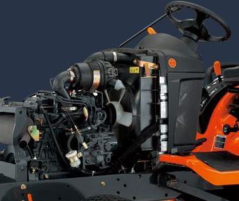 Kubota-diesel-engine-BX25D-tractor