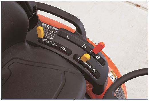 Kuota-B2301-Tractor-transmission
