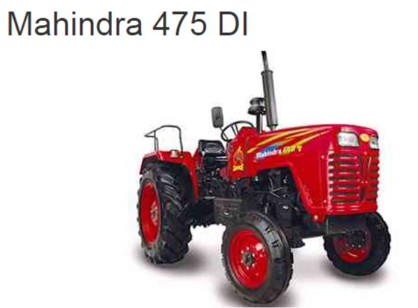 Mahindra 475 DI Tractor Price in India Specs Overview