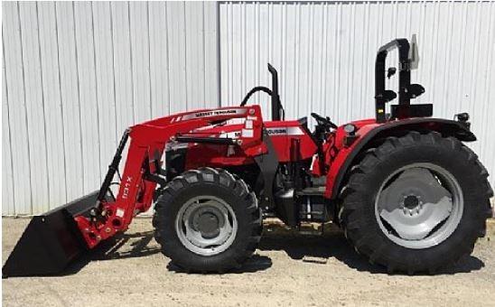 Massey Ferguson 4700 Series Utility Tractors Main Informations