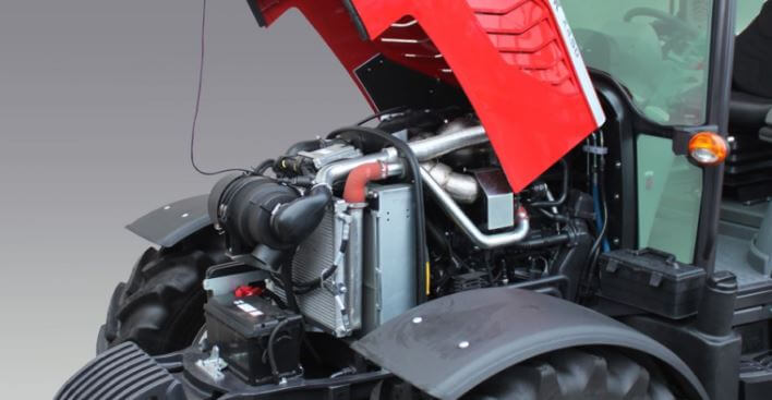 McCormick X4 Series Tractor engine