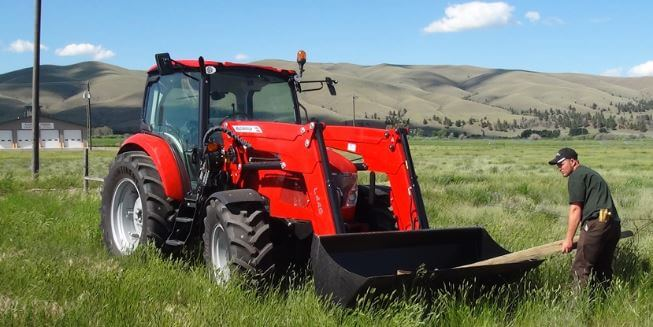 McCormick X5 Series Tractor Hydraulics