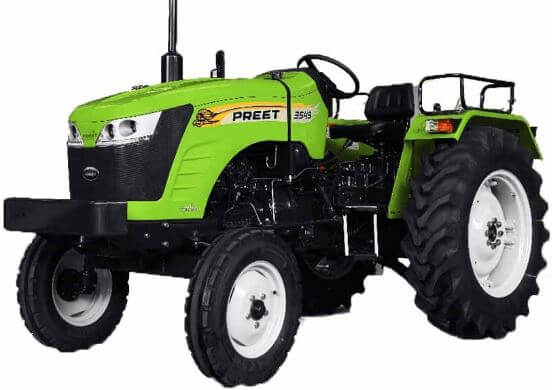 Preet 3549 Challenger 35HP 2WD Agricultural Tractor