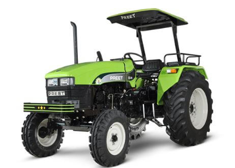 Preet 4549 5HP 2WD Agricultural Tractor