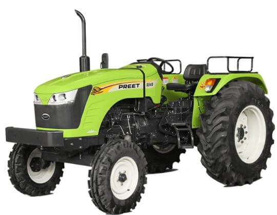 Preet 6549 65HP 4WD Agricultural Tractor