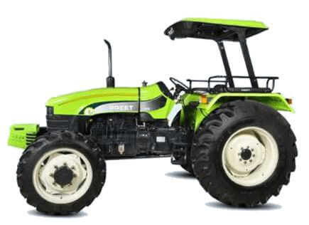 Preet 7549 75HP 4WD Agricultural Tractor