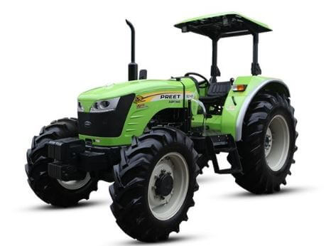 Preet 9049 90HP 4WD Agricultural Tractor