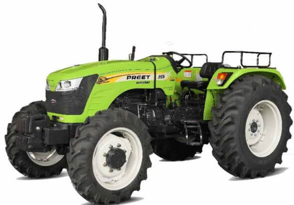 Preet 955 55HP 4WD Agricultural Tractor
