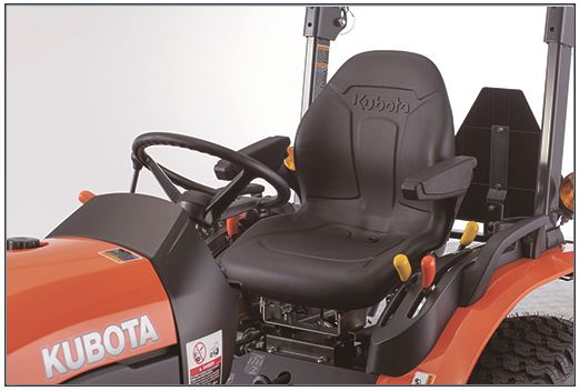 Price-of-Kubota-B2301-tractor-High-Back-Seat